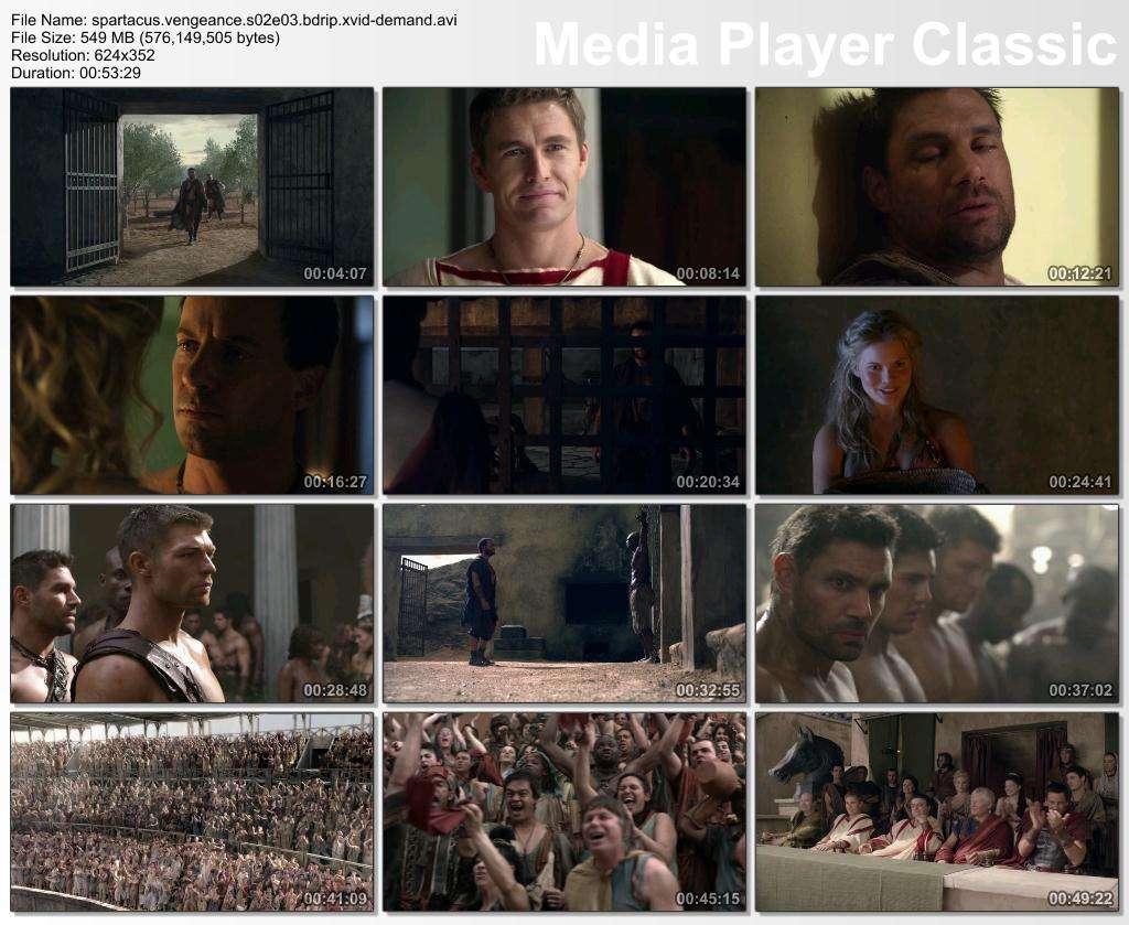 Spartacus Vengeance 2. Sezon T�m B�l�mler BDRip XviD T�rk�e Altyaz�l� Tek Link indir