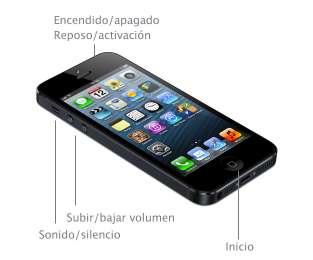 Controles y botones externos iPhone 5