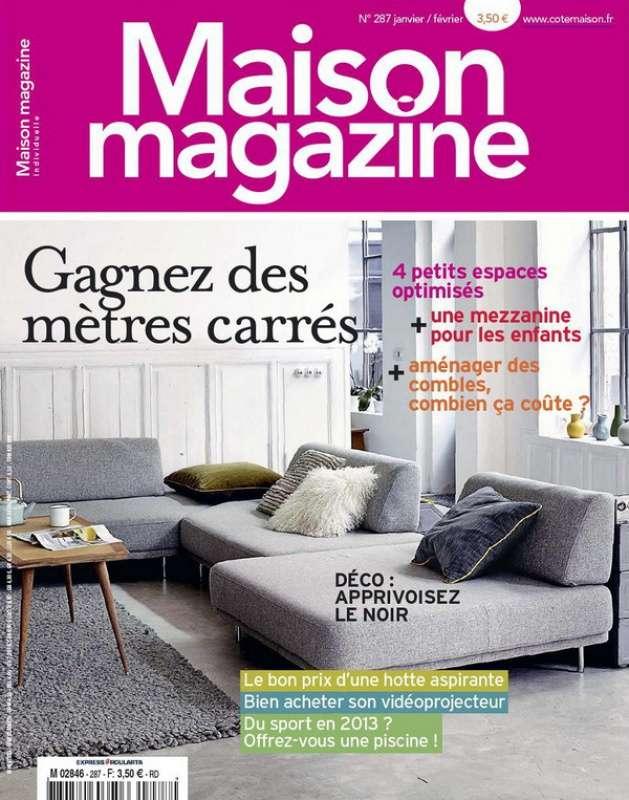 Maison Magazine N°287 Janvier Février 2013
