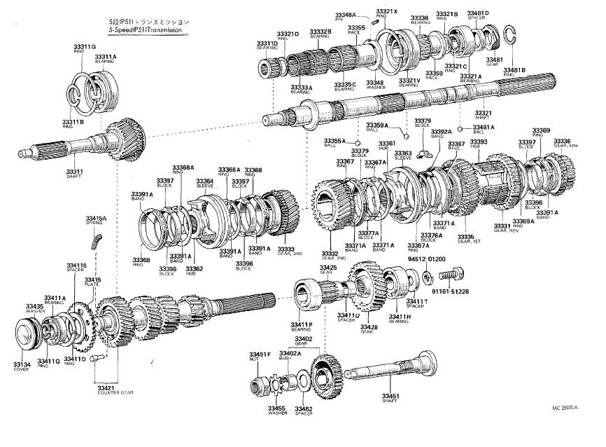 old celica transmissions diagrams (t40, t50, w40, w50 ... infiniti transmission diagrams